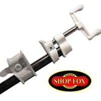 "Shop Fox 1/2"" and 3/4"" Pipe Clamp"
