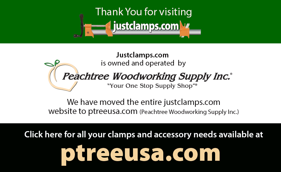 justclamps.com has moved to  ptreeusa.com.